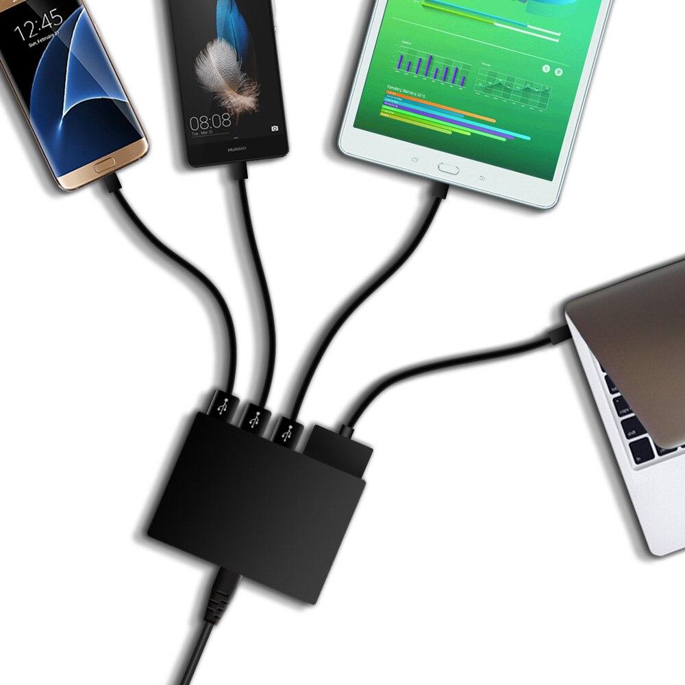 USB-laddare Snabbladdning Snabbladdare 3,0 5-ports USB-adapter 65W - Laptop-tillbehör - Foto 4