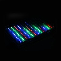 led music LED colorfule music spectrum display Electronic DIY training welding assembly parts (5)