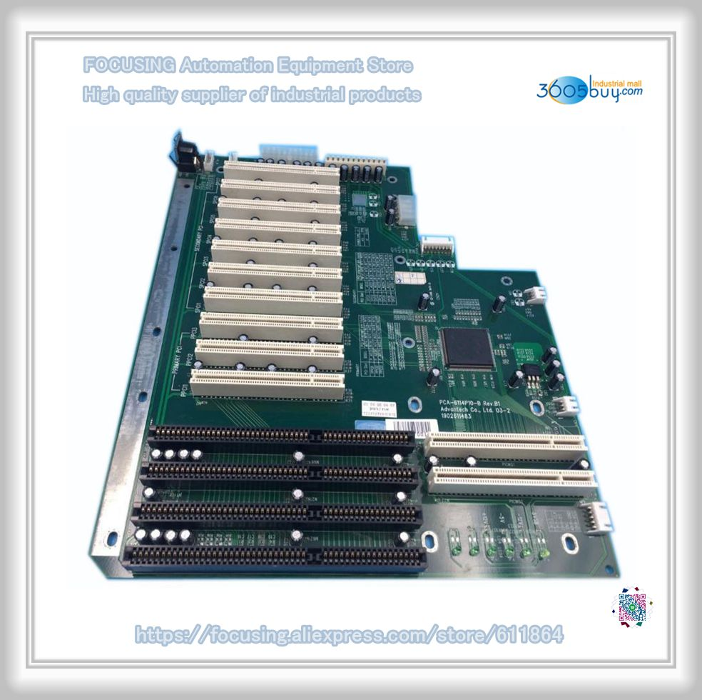 PCA-6114P10-B Rev.B2 PCA-6114P10-B B1 industrial board pca 6003 pca 6003ve a2 industrial motherboard tested good board with fan cpu and ram