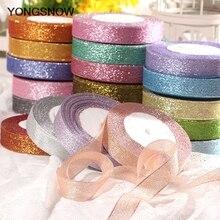 25Yards 25mm Silk Satin Ribbon Wedding Party Christmas Flower Decoration Gift Wrapping DIY Bow Craft Sewing Fabric navidad decor