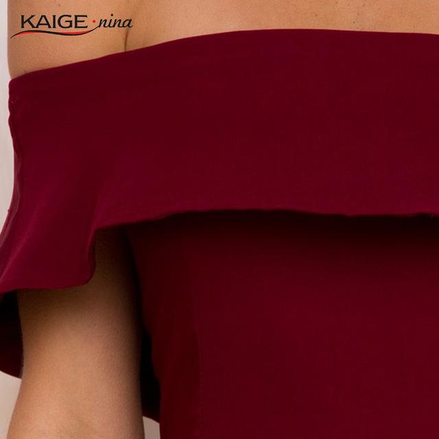 2017 Summer Fashion Mini Dress Party Dresses Hot Sale High-quality Harajuku Solid Color Off The Shoulder Slash Neck 1705