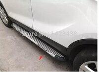 Yüksek Kalite! Araç kapısı yan basamağı Için Koşu Panoları Mitsubishi Outlander 2013 2014 2015|Araç Çubukları ve Basamaklar|   -