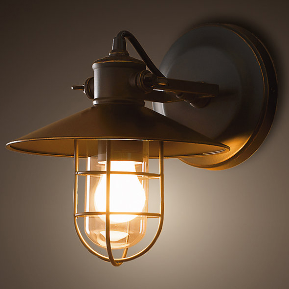 Vintage Wall Lamps Industrial Edison Iron Wall Sconce