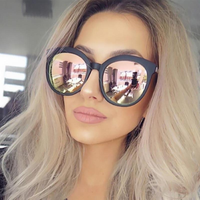 3128472a4e3b Rose Candy Cat Eye fashion Pink Brand Designer Vintage Women UV400 Hot  Trend Sunglasses Female Sun Glasses Cateye Retro 2017