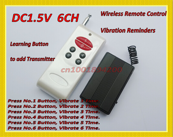 315/433 Wireless Vibrator Reminders DC1.5V 1CH RF Remote Control Vibrator Reminders1CH (2CH 3CH 4CH 6CH 8CH ) Adjusted by Jumper 500m long range 1ch 2ch 3ch 4ch 6ch 8ch 1 2 3 4 6 8 ch channel rf wireless remote control transmitter with holder 315 433 92