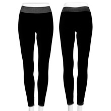 HW2016 Sport Tights Pants For Running Fitness Gym Clothes Quick Drying Trousers Elastic Capris Yoga Gym Athletic Sports Leggings