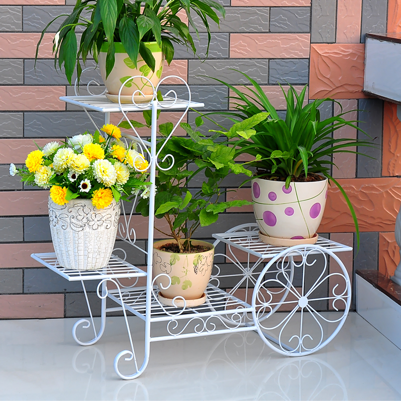 Exterior Planten Rek Sera Decor Iron Decorative Metal Garten
