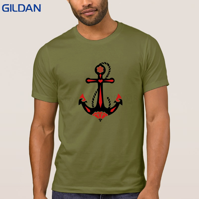 906b8bfed6df3 Knitted Anchor Sacred Rose Symbol Hope Faith Love Tshirt Short Sleeve Tee  Shirt T Shirt Men Building S 3xl Letters Clever-in T-Shirts from Men s  Clothing on ...