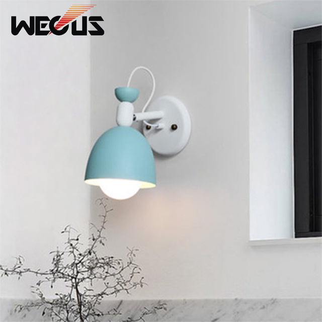 Contemporary Wall Sconce Lighting Low Profile Led Wall Modern Macaroon Art Decorative Wall Sconces Apartment Concise Bedside Study Reading Indoor Contemporary Wall Lights Aliexpresscom Modern Macaroon Art Decorative Wall Sconces Apartment Concise