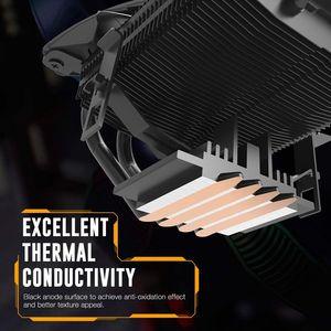 Image 2 - DarkFlash CPU Radiatore di Raffreddamento TDP 120W Dissipatore di Calore Silenzioso RGB PC Case Fan 120 millimetri 4Pin di Raffreddamento della CPU per LGA1151/1155/1156/1366/AM3/AM4
