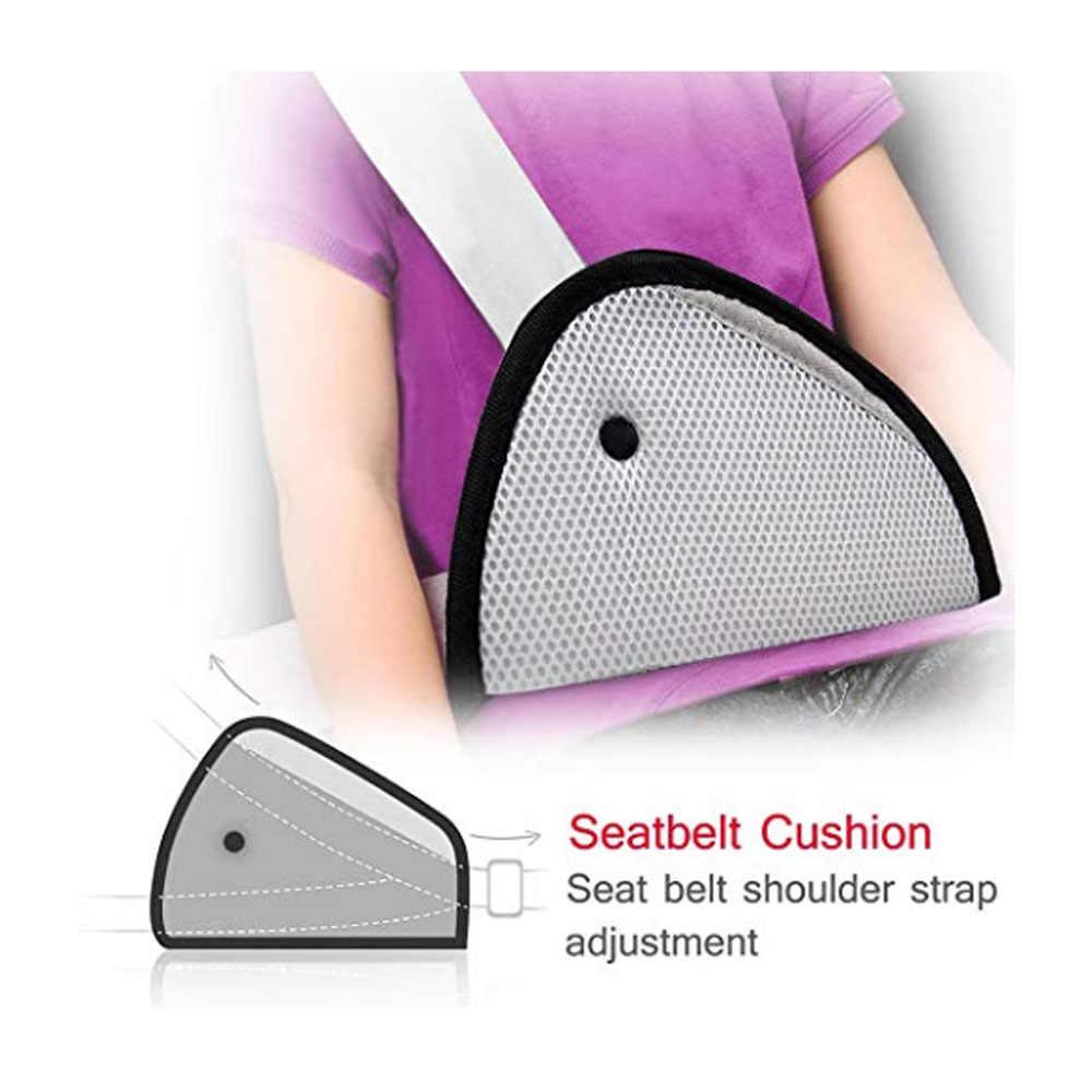 Funda de cinturón de seguridad, almohada de cinturón de seguridad para niños, Protector de correa de seguridad, almohadilla de ajuste de hombro, para niños bebés adultos