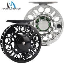 цена на Free shipping LD # 3/4 black color waterproof cnc machine cut fly fishing reel