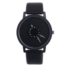 Top Brand Creative Casual Men Women Watches Luxury Sport Watch student Leather Band Analog Quartz Wrist Watch Relogio feminino brand julius women watches ultra thin leather strap watch band analog display quartz wristwatch luxury watches relogio feminino