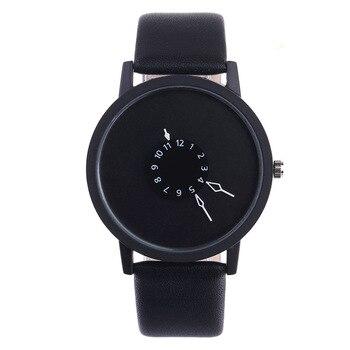 цена на Top Brand Creative Casual Men Women Watches Luxury Sport Watch student Leather Band Analog Quartz Wrist Watch Relogio feminino