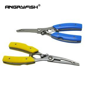 Image 3 - ANGRYFISH narzędzie połowowe zestaw zawiera ze stali nierdzewnej uchwyt wędkarski ryb kontroler + wielofunkcyjny hak połowów linii szczypce rybackie Fishing Tackle