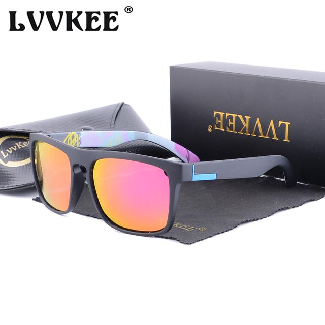 Hot LVVKEE 2018 Polarized Men's Sunglasses Classic Design Mirror Driving Sun Glasses For Male Summer UV400 Oculos Quick Shipping