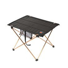Portable Folding Table Aluminium Alloy Picnic Barbecue Table Ultra-light Durable Outdoor Table Desk For Camping Travel(China)
