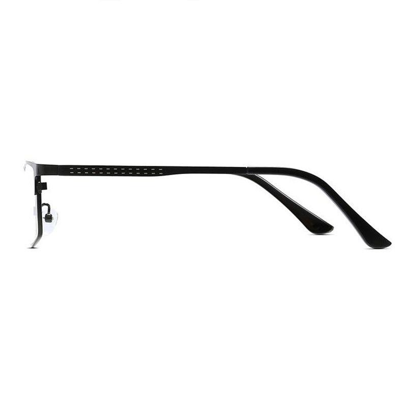Full Rim Glasses Frame Rectangular Optical Alloy Frame Eyeglasses Prescription Men Eyewear Spectacles Quality Man Specs in Men 39 s Eyewear Frames from Apparel Accessories