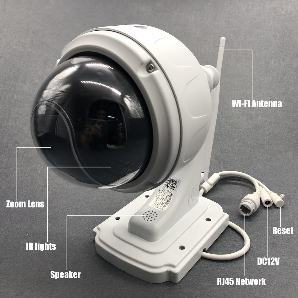 Ip камера наружная беспроводная 1080p ptz wi fi 5 Мп