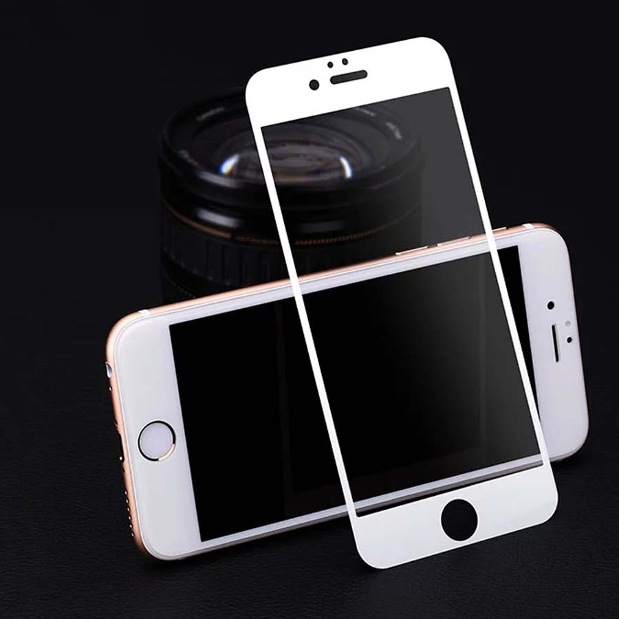 fullskärm Premium härdat glas skärmskydd för iPhone 6 6S Härdad skyddsfilm för iPhone 6 4.7 tums gratis frakt