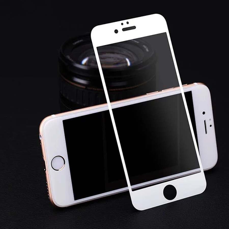 Protector de pantalla de cristal templado premium de pantalla completa para iPhone 6 6S película protectora endurecida para iPhone 6 4.7 pulgadas envío gratis