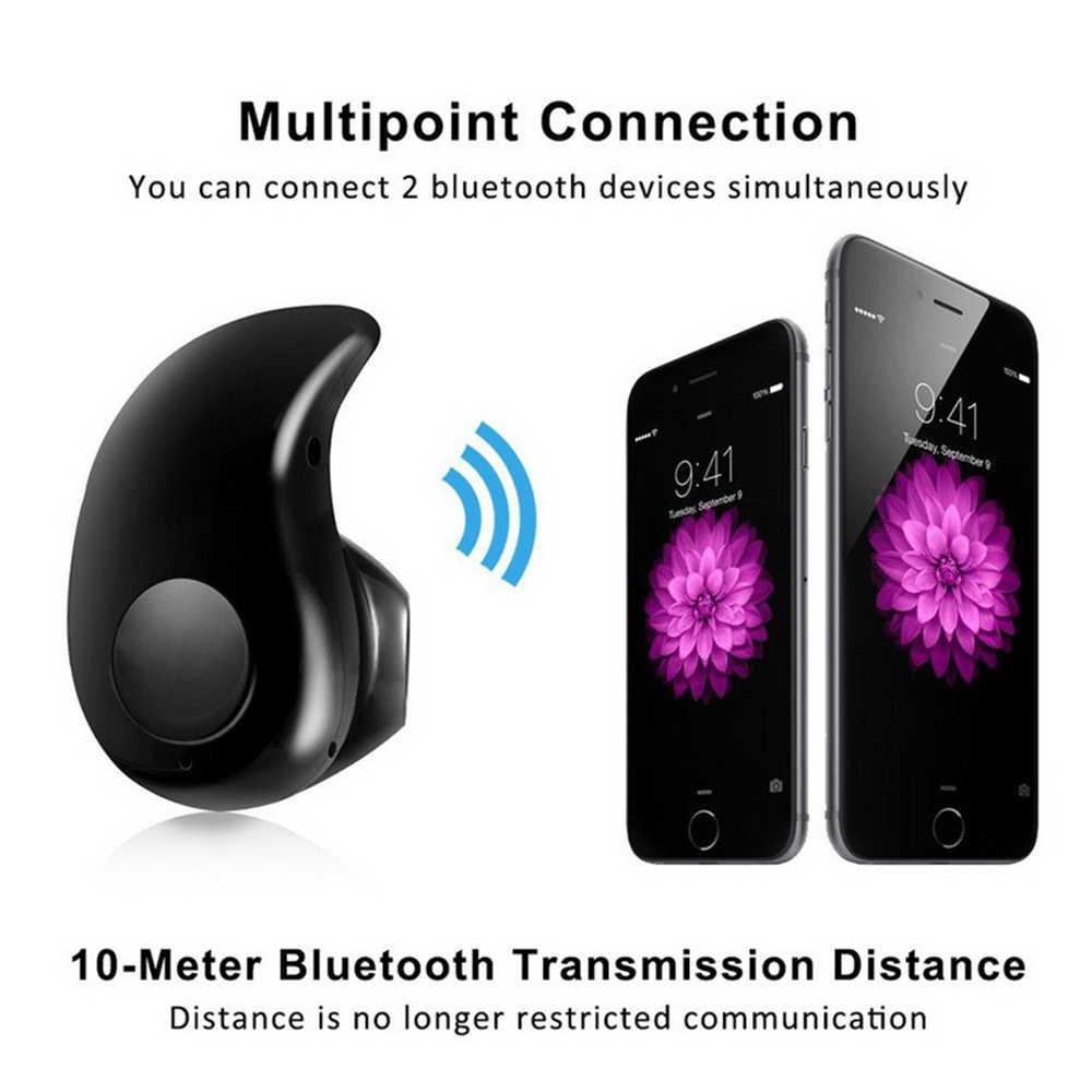 С высоким качеством мини Беспроводной Bluetooth V4.0 наушники S530 Спортивная гарнитура с микрофоном для iPhone 6 7 Xiaomi микрофон для мобильного телефона, компьютера