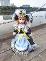 16 inches Porcelain Doll Russian Girl 41cm Ceramics Russian Doll Princess Baby