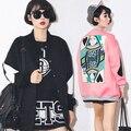 Novetly Покер Королева Дизайн Бейсбол Пальто Куртки Мода Дамы Свободные Уличная Хип-Хоп Танцы Бейсбол Равномерное Куртки И Пиджаки