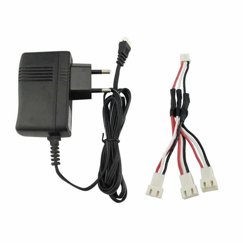 7,4 V 2 S Lipo cargador de batería 3 en 1 Cable de cargador para Hubsan X4 H502E H502S H501S SYMA x8 X8C X8G X8HG X8HW X8HC MJX X101 V913