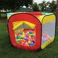 Casa de juegos de Interior y Al Aire Libre Fácil Plegable Piscina De Bolas Carpa Refugio Juego Cabaña Jardín Casa de Juegos Para Niños Carpa