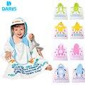 Roupões de banho das crianças das meninas dos meninos do bebê roupão com capuz poncho towel algodão sleepwear roupões de banho crianças macio