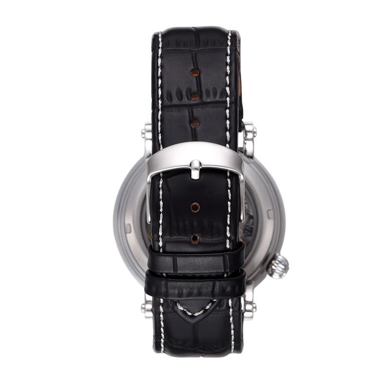 탑 브랜드 고급 기계식 남성 시계 SHENHUA Steampunk 투명 - 남성 시계 - 사진 6