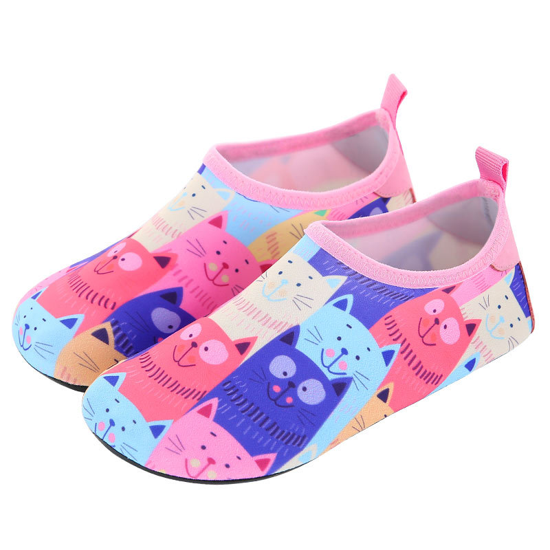 Boys Girls Quick Drying Swim Water Shoes Kids animal Colorfur Barefoot Shoes Kids Shoes Children Swimming Slippers Quick Dryi in Upstream Shoes from Sports Entertainment