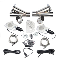 2.02.252.53.0 Exhaust Cut Out Control Cutout Stainless Steel Electric Exhaust Cutout Pipe Kit With Remote Control