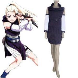 Anime Naruto Cosplay clothing- Individual Naruto cosplay Shippuden Ino Yamanaka Womens Cosplay Costume - Freeshipping