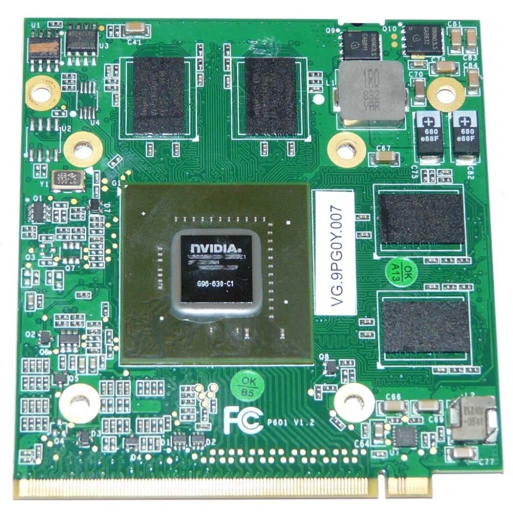 Original For Acer 7730 7736 8930G 8920G 8930 8920 Graphics card board G96 630 C1 512MB