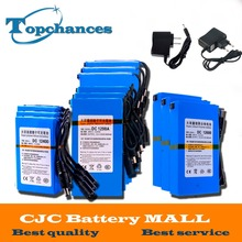 High Quality Super Rechargeable Portable Lithium-ion Battery DC 12V 1800mAh -20000mAh With EU/US Plug