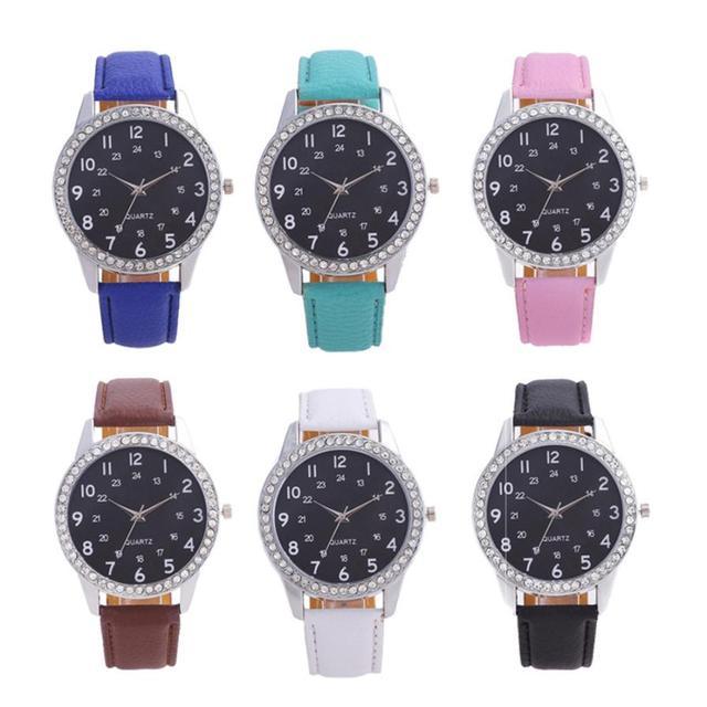 Simple Birthday Gifts Womens Quartz Watch Temperament Souvenir Fashion Beautiful Casual Girls Ladies Wristwatches 2018 D