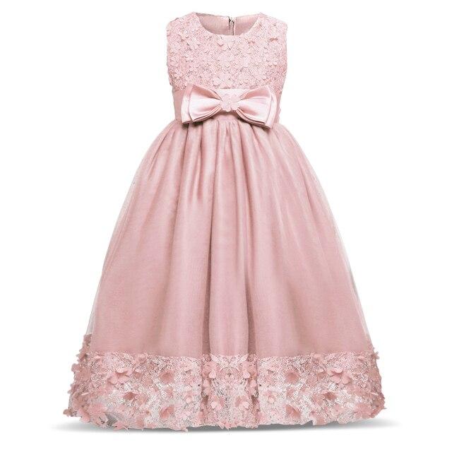 Nuevos Diseñadores niños vestidos para niña belleza encaje princesa ...
