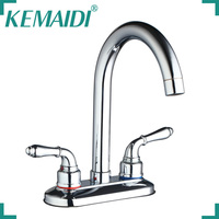 Hello 97176 1 Brand NEW Kitchen Faucet Torneira Da Cozinha Double Handles Swivel Spout Faucet Mixer