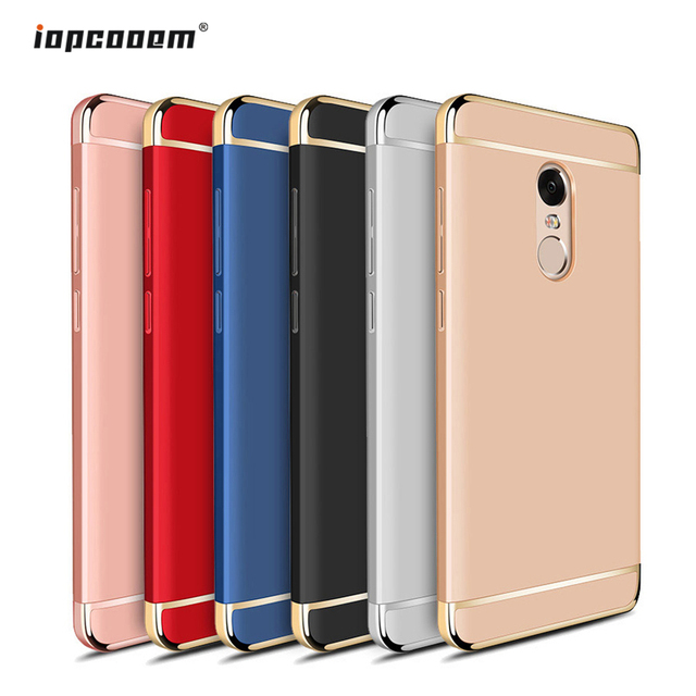 pretty nice 9b4ab a9fc4 US $3.2 27% OFF|Xiaomi Redmi Note 4X Case 3 in 1 Luxury Ultra Thin Coque  Phone Case For Xiaomi Redmi Note 3 4 Pro Redmi 3S 4A Cover Phone Cases-in  ...