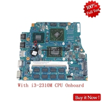 NOKOTION A1820699A For Sony Vaio VPCSB1 MBX 237 1P 0114J00 A011 13'' laptop Motherboard With i3 2310M CPU Onboard