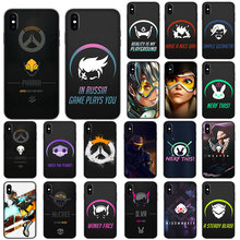 Overwatch Game Mềm Dành Cho iPhone XS 11 Pro Max XR X 7 8 6 6S Plus(China)
