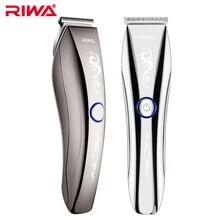 RIWA, тонкое лезвие, водонепроницаемая машинка для стрижки волос, профессиональная машинка для стрижки волос, Беспроводная Машинка для стрижки волос