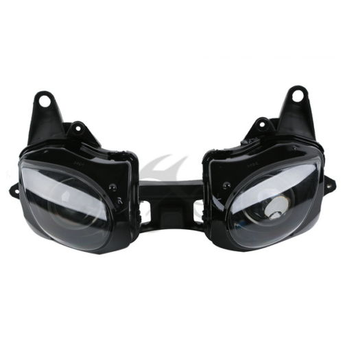 Motorcycle Front Headlight Head Lamp Assembly For Kawasaki Ninja ZX-6R ZX6R 2007-2008