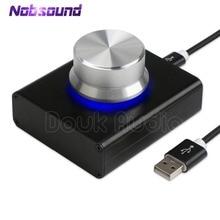 Nobsound mini USB регулятор громкости без потерь VOL регулятор для планшетного ПК, компьютера, динамика аудио