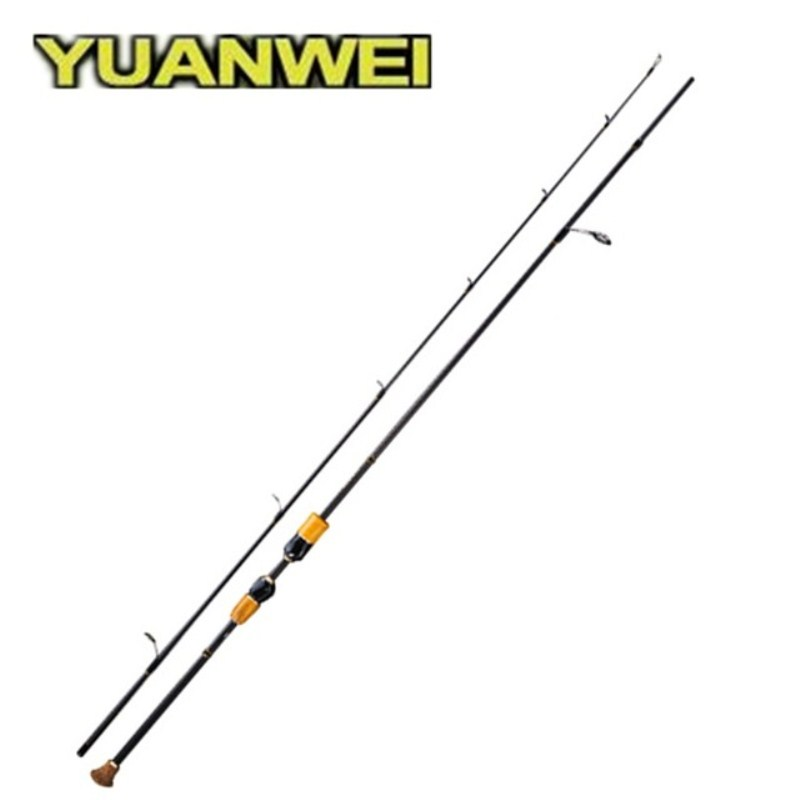 YUANWEI 1.8m2.1m Spinning Fishing Rod IM8 99% Carbon ML/M/MH Power Vara de Pesca Lure Fishing Tackle Rod Canne A Peche Feeder smart 2 4m spinning fishing rod m power vara de pescar carbono travel spinning rod canne a peche lure weight 7 25g fishing rods
