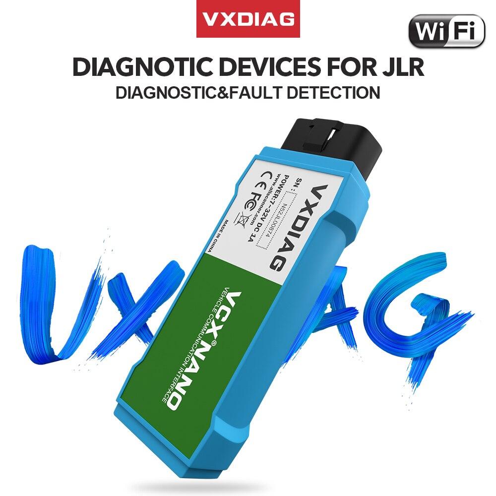 VXDIAG Car Accessories VCX NANO For JLR SDD Wifi Obd2 Code Scanner Programming For Jaguar Diagnostic Tools For Land Rover