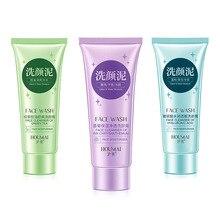 เบญจมาศ/ชาเขียว/Hyaluronic Acid Facial Cleanser Nourishing CleanserโฟมMoisturizing Face Wash Anti Spots Marks