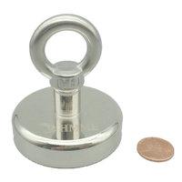 Fishing Magnet Pot Diameter 60mm 113kg Pulling Lifting Gear Strong Neodymium Permanent Deep Sea Salvage Treasure Hunting Magnet